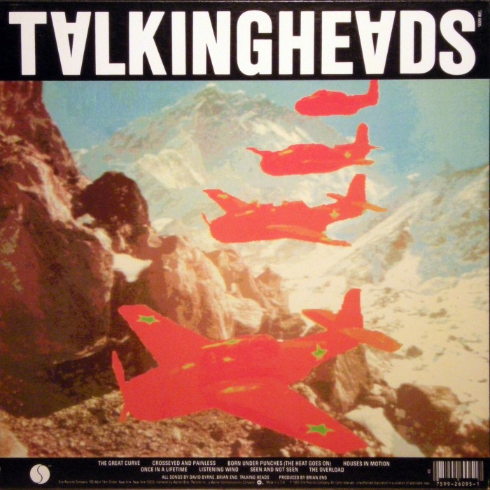 Talking Heads Remain In Light poll