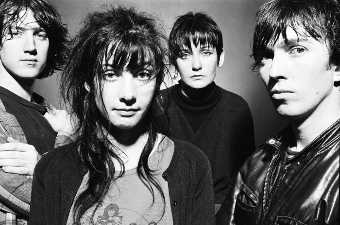 """SPECIAL PRICE APPLIES - CONSULT CAMERA PRESS OR ITS LOCAL AGENT. My Bloody Valentine (Kevin Shields, Debbie Googe, Colm O'Ciosoig and Belinda Butcher) photographed in the early 1990's. """