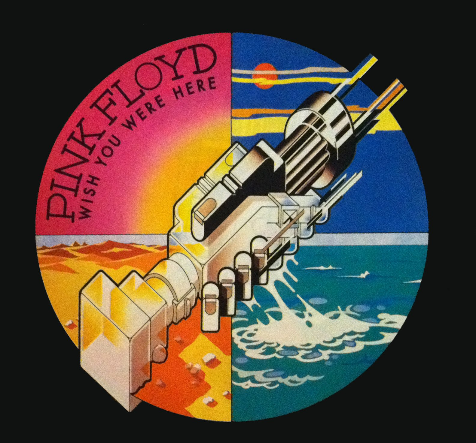 Listening To Pink Floyd Wish You Were Here Classic