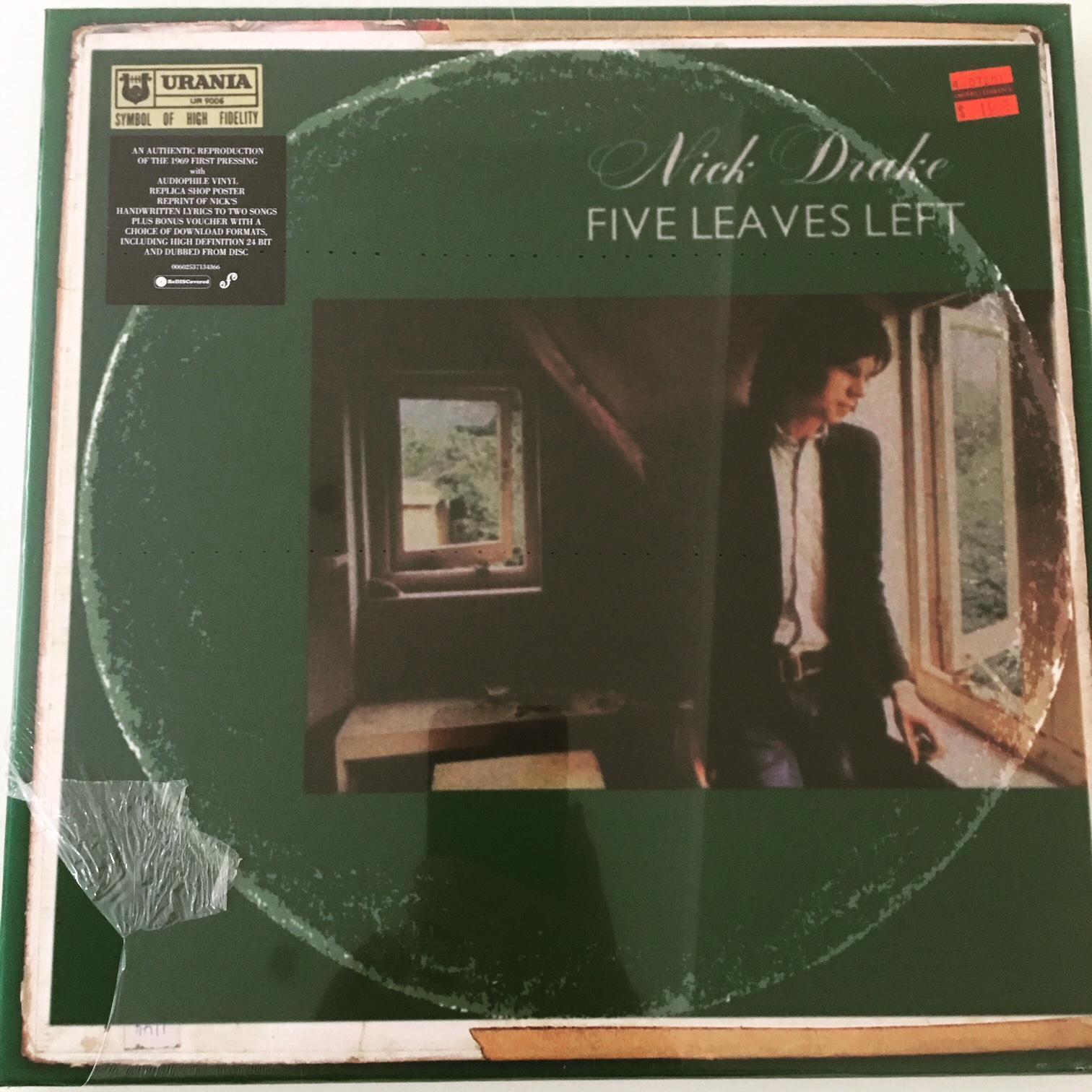Nick Drake Five Leaves Left Box Set Giveaway Classic Album Sundays