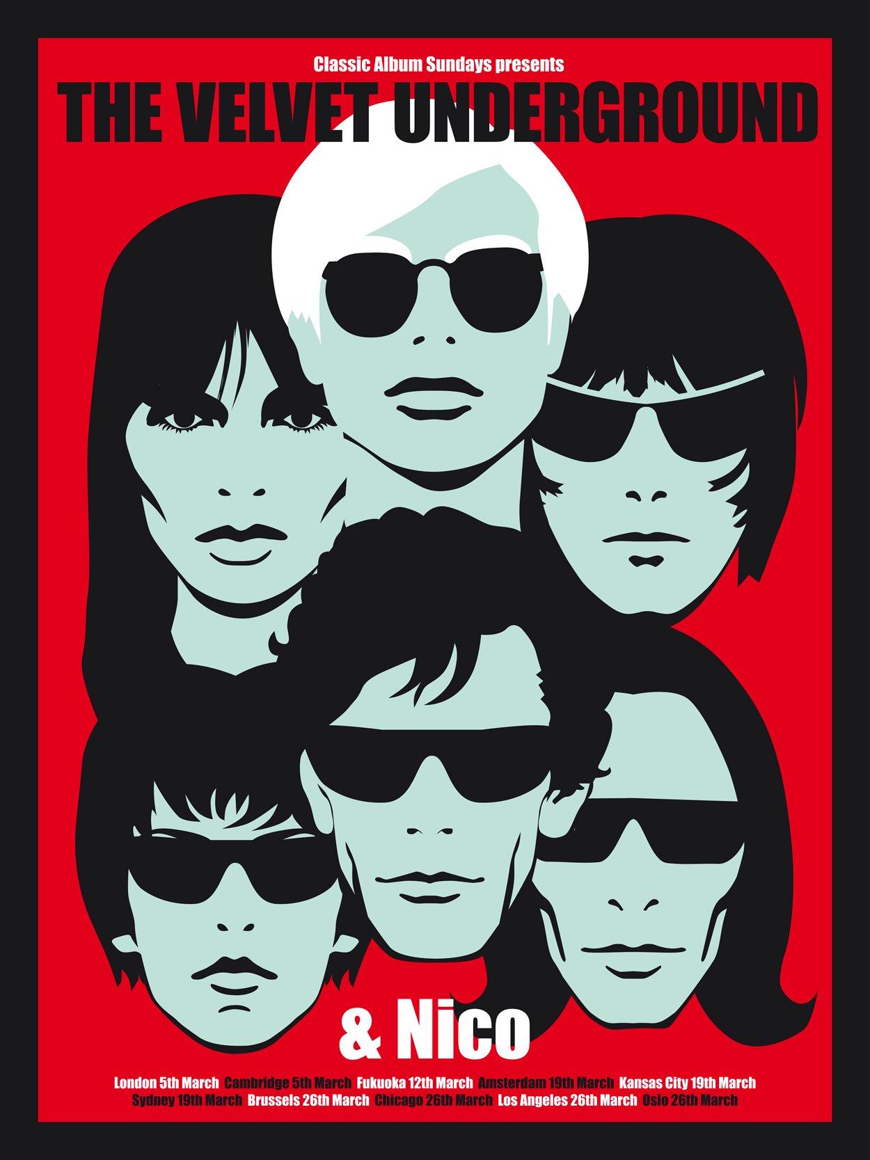 The Velvet Underground Amp Nico Poster Classic Album Sundays
