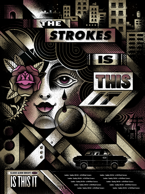 The Strokes Is This It Poster Classic Album Sundays