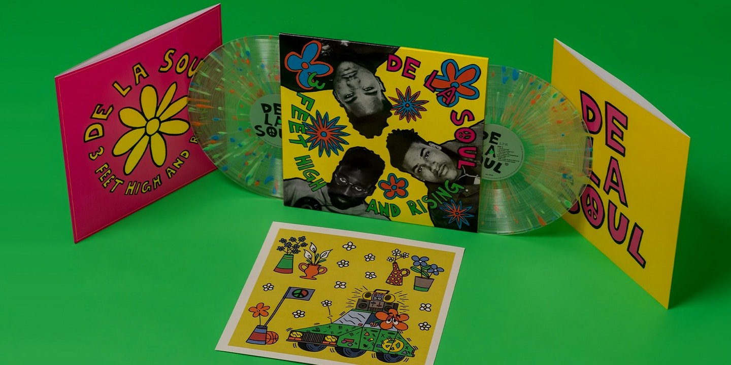 Look Inside The De La Soul 3 Feet High And Rising Re