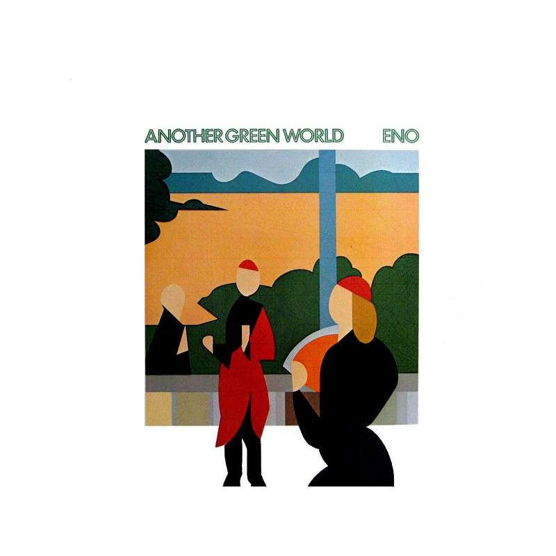Image result for another green world album cover